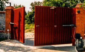 электро ворота