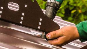 снегозадержатели для металлочерепицы установка