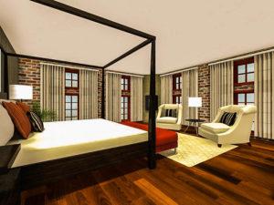 дизайн спальни цены