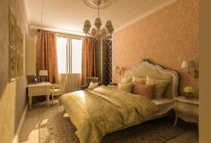интерьер спальни расценки