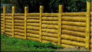 забор из горбыля цена