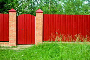 забор из металлопрофиля цена